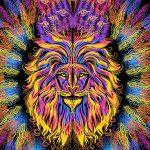 Огнегривый лев