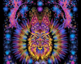 1*1,5 м Огнегривый лев 1
