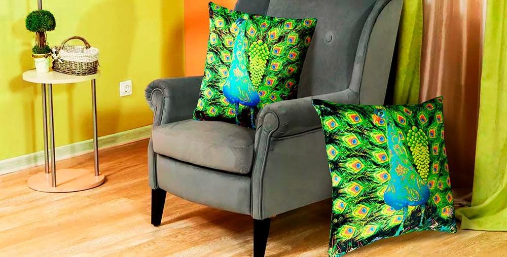 Декоративные флуоресцентные подушки
