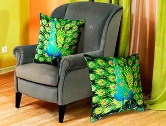 Флуоресцентные подушки Флуоресцентный декор интерьера