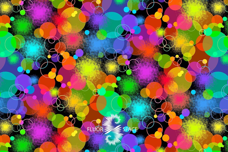 Dots Флуоресцентные ткани, fluorescent uv-active fabrics