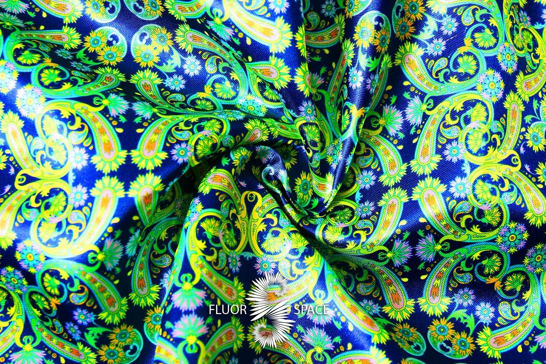 Indika Флуоресцентные ткани, fluorescent uv-active fabrics