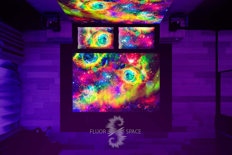 Флуоресцентное постельное белье