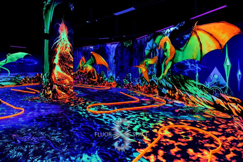 fluorescent-uv-active-3d-decoratin-for-neon-golf
