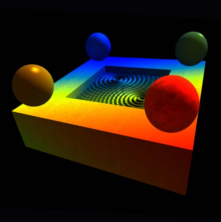 Создание флуоресцентных хроматических 3D декораций