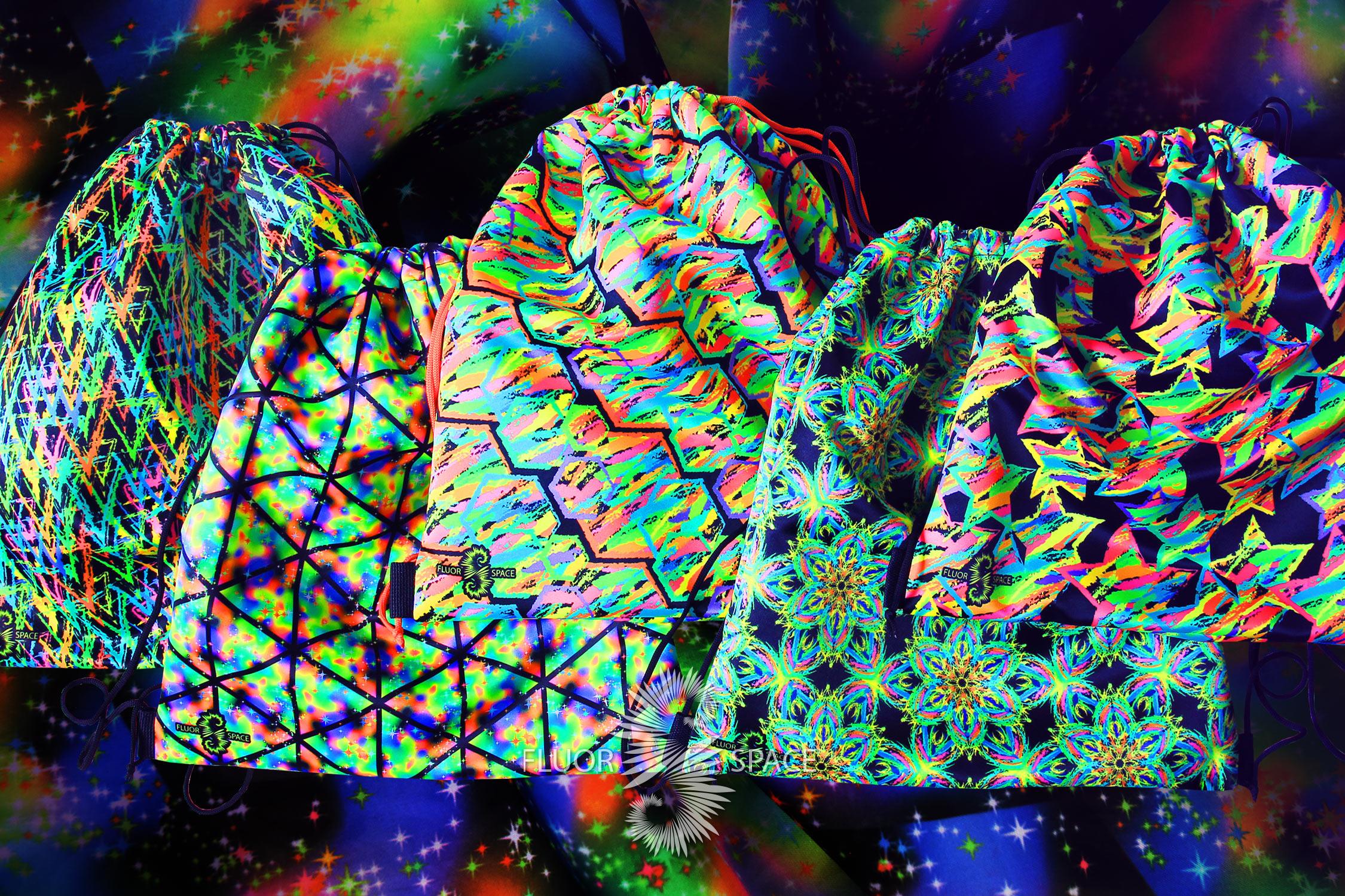 Флуоресцентные мешки и сумки