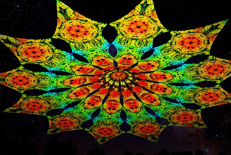 Фестивальные декорации канопи 12 лепестков