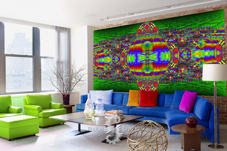 Флуоресцентные декоративные полотна