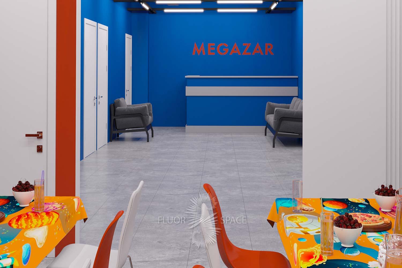 Дизайн-проект декораций Megazar
